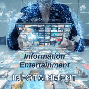 Infotainment infographic